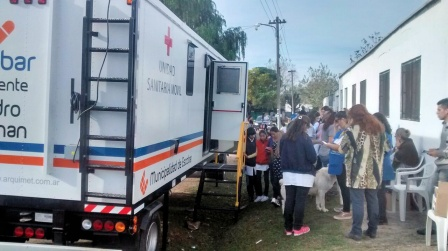 Unidad Sanitaria Movil en Matheu